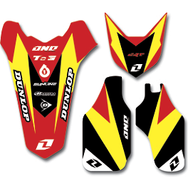 2013 One Industries Delta Graphic Trim Kit - Honda - 2013 One Industries MotoSport Graphic - Honda
