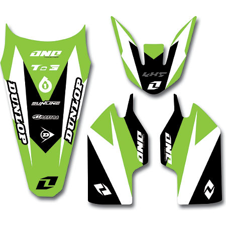 2013 One Industries Delta Graphic Trim Kit - Kawasaki - Main
