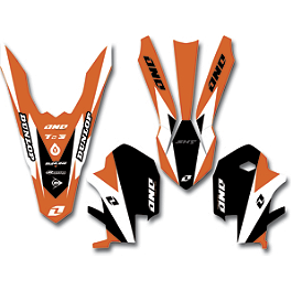 2013 One Industries Delta Graphic Trim Kit - KTM - 2013 Factory Effex Swingarm Decal - KTM