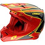 2013 One Industries Gamma Helmet - Crypto -  Dirt Bike Motocross Knee & Ankle Guards