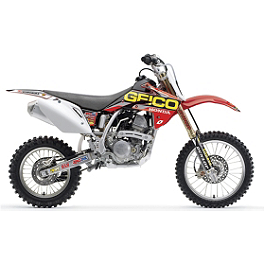 2013 One Industries Geico Powersports Graphic Kit - Honda - 2011 One Industries Geico Graphic Kit - Honda