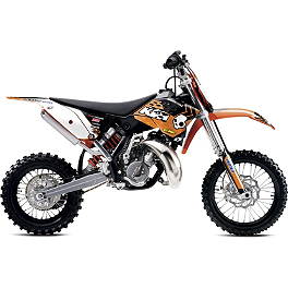 2013 One Industries Orange Brigade Graphic Kit - KTM - 2011 KTM 65SX 2012 N-Style Factory Team Graphics Kit - KTM