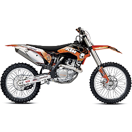2013 One Industries Orange Brigade Graphic - KTM - 2012 KTM 350SXF 2013 Factory Effex EVO 10 Graphics - KTM