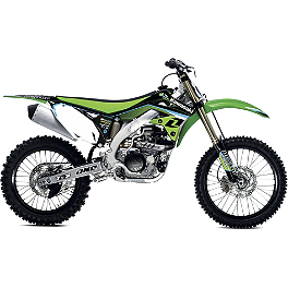 2013 One Industries Race Graphic Kit - Kawasaki - 2013 One Industries Throwback Graphic Kit - Kawasaki