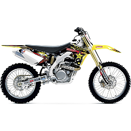 2013 One Industries Rockstar Energy MotoSport Team Complete Graphic Kit - Suzuki - 2012 Suzuki RMZ450 2013 Factory Effex Rockstar Complete Graphics Kit - Suzuki