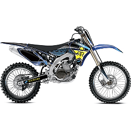 2013 One Industries Rockstar Graphic Kit - Yamaha - 2012 Yamaha YZ250F 2011 One Industries White Yamaha Cosmetic Kit