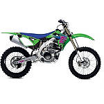 2013 One Industries Throwback Graphic Kit - Kawasaki - One Industries Dirt Bike Graphic Kits