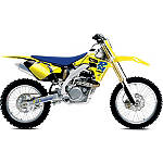 2013 One Industries Throwback Graphic Kit - Suzuki - Suzuki RMZ450 Dirt Bike Graphics