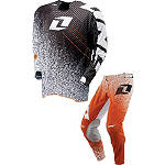 2013 One Industries Vapor Combo - Noise - One Industries Vapor Dirt Bike Pants, Jersey, Glove Combos