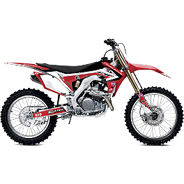 2013 One Industries World Team Graphic Kit - Honda - 2010 Honda CRF450R Alias Geico Team Graphics Kit - Honda