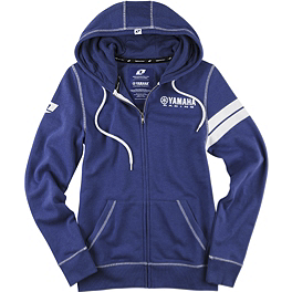 One Industries Women's Yamaha Banding Hoody - One Industries Women's Yamaha Horizon Zip Hoody