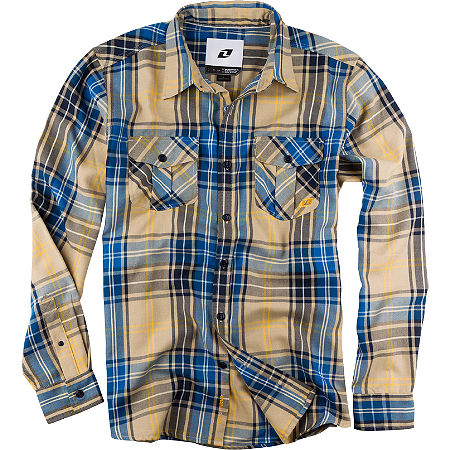 One Industries Bixby Flannel Long Sleeve Shirt - Main