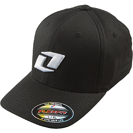 One Industries Icon CB X-Fit FlexFit Hat - Alpinestars Runner Hat