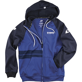 One Industries Yamaha Confirm Hooded Fleece Jacket - One Industries Yamaha Stripes Hooded Fleece Jacket