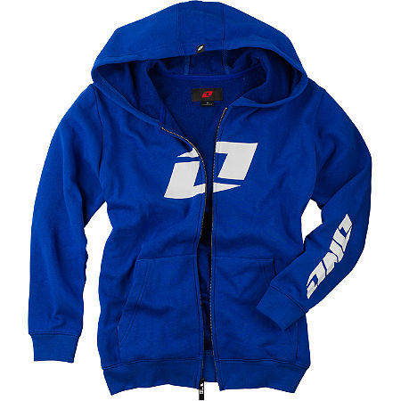 One Industries Youth Icon FZ Full Zip Fleece Hoody - Main