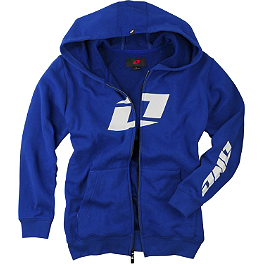 One Industries Youth Icon FZ Full Zip Fleece Hoody - Fox Youth Schematica Zip Front Fleece