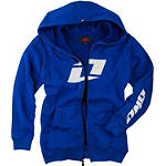 One Industries Youth Icon FZ Full Zip Fleece Hoody - Youth ATV Sweatshirts & Hoodies