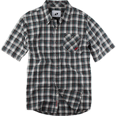 One Industries Gainey Plaid Short Sleeve Shirt - Main