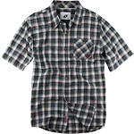 One Industries Gainey Plaid Short Sleeve Shirt - One Industries Motorcycle Mens Casual