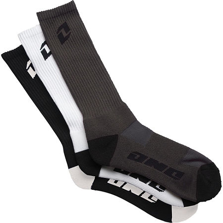 One Industries Hi Crew Variety Socks - 3-Pack - Main