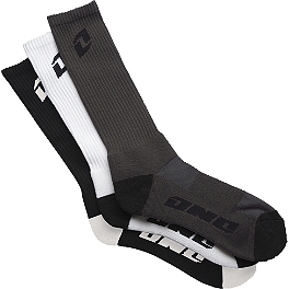 One Industries Hi Crew Variety Socks - 3-Pack - Alpinestars Advocate Sandals