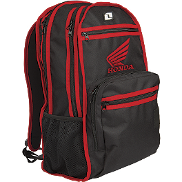 One Industries Honda Cryptic Backpack - 2014 Troy Lee Designs Ignition Backpack