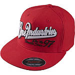 One Industries League Flex Fit J-Fit Hat - One Industries Cruiser Mens Head Wear