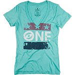 One Industries Women's Patriot T-Shirt - Dirt Bike Womens Casual