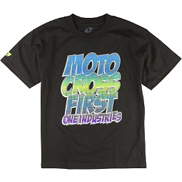 One Industries Youth Pow T-Shirt - Alpinestars Youth NC Logo T-Shirt