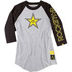 One Industries Rockstar Harrington 3/4 Sleeve Baseball Jersey - Mens Casual Motocross Dirt Bike T-Shirts