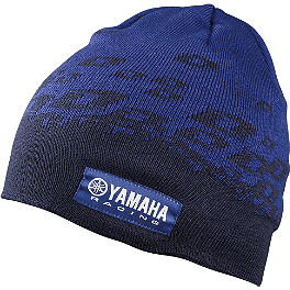 One Industries Yamaha Rerun Beanie - One Industries Yamaha Stripes Hooded Fleece Jacket