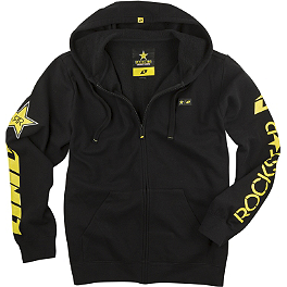 One Industries Rockstar Shattered Zip Hoody - Fox Rockstar Golden Zip Hoody