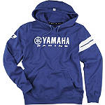 One Industries Yamaha Stripes Hooded Fleece Jacket - Utility ATV Mens Sweatshirt and Hoodies