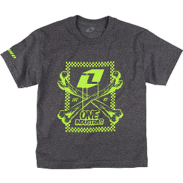 One Industries Youth Boned T-Shirt - Alpinestars Youth Shattered T-Shirt