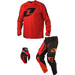 2014 One Industries Atom Combo - Icon - One Industries Utility ATV Pants, Jersey, Glove Combos