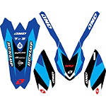 2014 One Industries Delta Graphic Trim Kit - Yamaha - Yamaha YZ250F Dirt Bike Graphics
