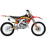 2014 One Industries FMF Graphic Kit - Honda - Honda CR125 Dirt Bike Graphics