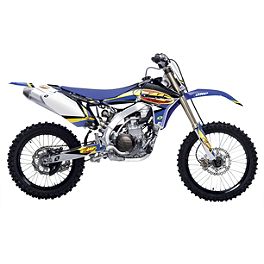 2014 One Industries FMF Graphic Kit - Yamaha - 2014 One Industries Throwback Limited Edition Graphic Kit - Yamaha