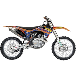 2014 One Industries Orange Brigade Graphic Kit - KTM - 2014 One Industries FMF Graphic Kit - KTM