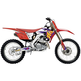 2014 One Industries Throwback Graphic Kit - Honda - 2014 One Industries Throwback Limited Edition Graphic Kit - Yamaha