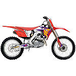 2014 One Industries Throwback Graphic Kit - Honda - Honda CR125 Dirt Bike Graphics