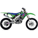 2014 One Industries Throwback Limited Edition Graphic Kit - Kawasaki - One Industries Dirt Bike Dirt Bike Parts