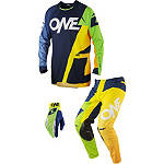 2014 One Industries Vapor Combo - Stratum - One Industries Vapor Dirt Bike Pants, Jersey, Glove Combos