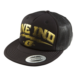 One Industries Golden Snapback Hat - One Industries DIY AJ-Fit FlexFit SnapBack