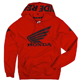 One Industries Honda Ride Red Hoody - Fox Honda Standard Zip Hoody