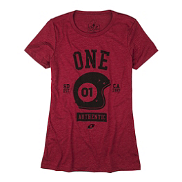 One Industries Women's Authentic T-Shirt - AXO Cube T-Shirt