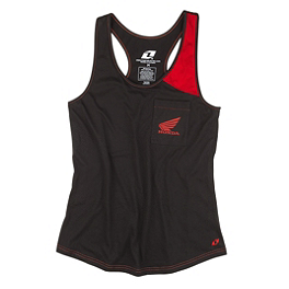 One Industries Women's Honda Grip Tank - Factory Effex Women's Honda T-Shirt