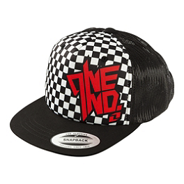 One Industries Youth Chex Snapback Hat - One Industries Youth Message J-Fit Hat