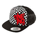 One Industries Youth Chex Snapback Hat - Dirt Bike Youth Casual
