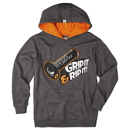 One Industries Youth Grip It Hoody - One Industries Youth Icon FZ Full Zip Fleece Hoody